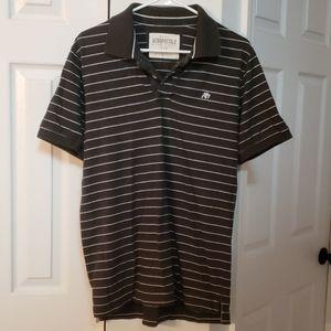 Aeropostale polo shirt striped EUC